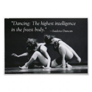 Dance Quotes Posters & Prints