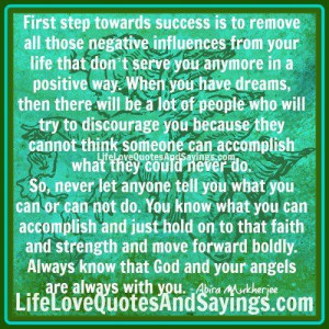 First Step Towards Success.. | Love Quotes And Sayings