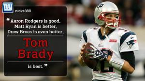 Tom Brady Patriots Football Quotes