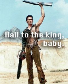 Army of Darkness, 1992. Bruce Campbell. #film #movie #quote More