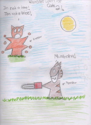 Warrior Cats http://jayfeather561.deviantart.com/art/FUNNY-WARRIOR-CAT ...