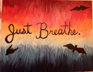 Canvas Quotes with birds and bright colors on Etsy,