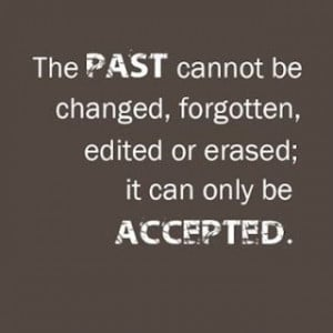 The past quote
