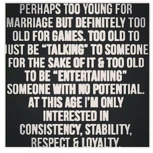 Consistency stability respect and loyalty