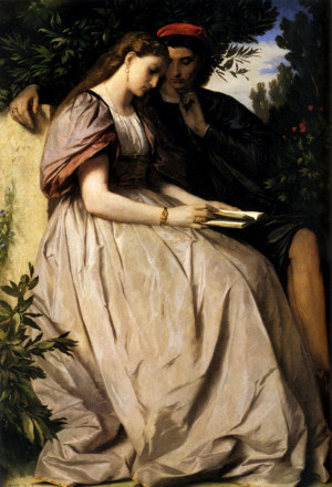 Anselm Feuerbach (1829—1880) – Paolo And Francesca