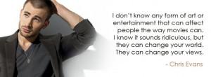 Chris Evans Quote