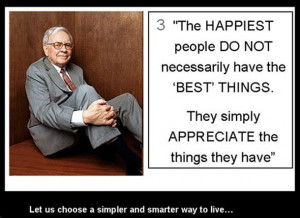 Warren Buffet Interesting Quotes and some Facts