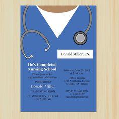 nursing school graduation announcement more graduation announcements ...