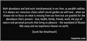 More Sarah Ban Breathnach Quotes