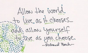Richard bach illustrated quote Famous Quotes and Sayings Illustrated ...