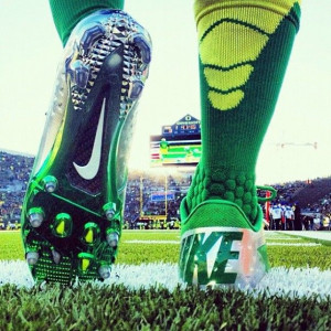 ... shot by Nike highlighting the new football line for the Oregon Ducks