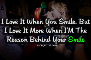RICK Quotes - Love Quotes: Smile Quotes | Reason Behind Your Smile