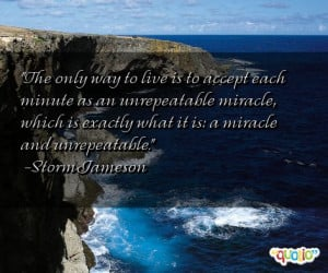 Miracles Quote