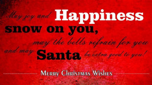 May Joy And Happiness Snow On You, May The Bells Refrain For You And ...