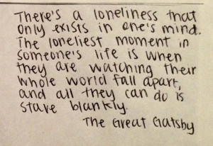 Quote Lit The Great Gatsby F Scott Fitzgerald