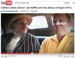 NZ Prime Minister John Key with