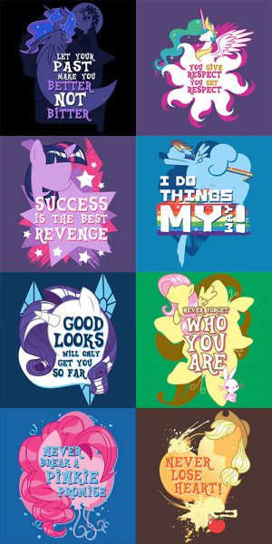My Little Pony, Inspiration Is Magic - PopUpTee by GBIllustrations