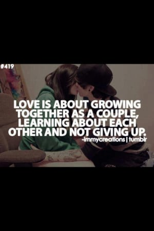... Giving up would be a terrible waste of two souls with so much in