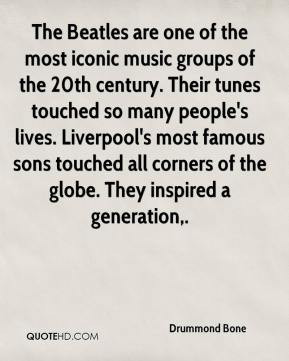 Drummond Bone - The Beatles are one of the most iconic music groups of ...