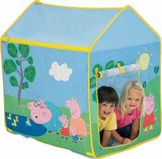 Peppa Pig Wendy Tent More