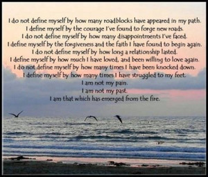 am not pain I am not my past