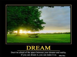 Dream Motivational Motivational Quotes HD Wallpaper