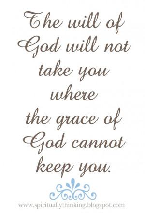 God's Will & Grace