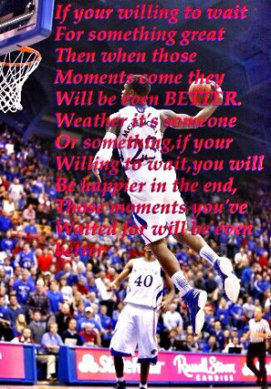 Ben Mclemore-be WILLING to wait for great things,those moments you ...