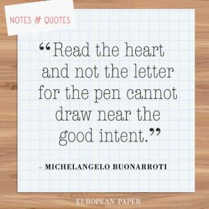 Michelangelo Quotes -paper-quote-michelangelo-