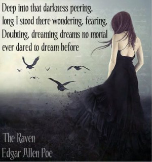 Edgar Allen Poe ( #Quote )