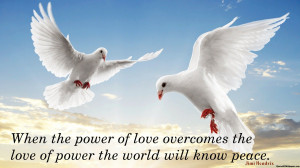 World Peace and Love Quotes