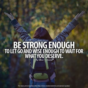 Inspirational Quotes - Be strong enough