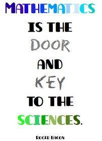 Funny Science Quotes For Students #math #quote : #mathematics is