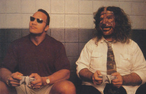 The Rock and Mankind Play Wrestlemania 2000 - Incite Magazine #1 ...