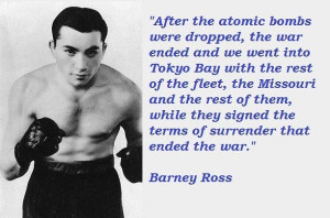 Barney ross quotes 1
