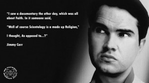 Jimmy Carr, Atheism