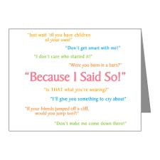 Mothers Day Sayings Thank You Cards & Note Cards