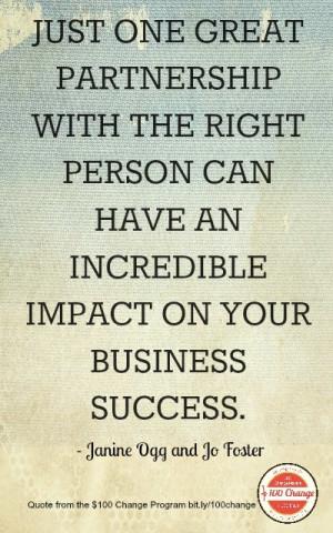 ... Partnerships ~ Inspirational Quotes Business Partnership ~ Quotes