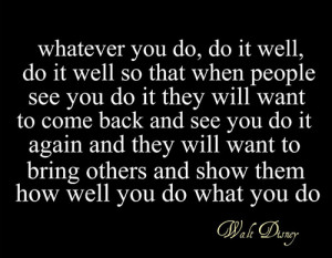 Inspirational Quotes From Walt Disney