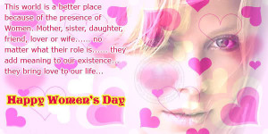 Best Happy Women's Day Quotations, Wishes, Greetings for Whatsapp ...