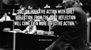 effective action with quiet reflection. From the quiet reflection ...