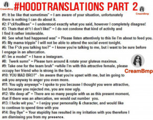 ghetto sayings