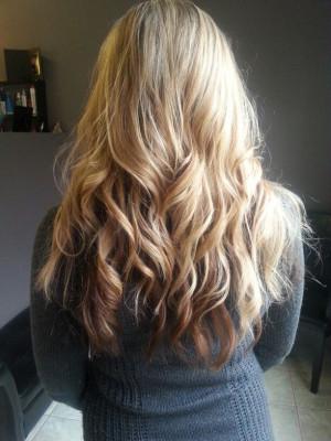 Blonde hair, highlights, lowlights, brown underneath: Hair Ideas, Hair ...