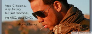 Romeo Santos Profile Facebook Covers