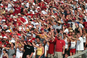 the war chant florida state s war chant might have begun with a random ...