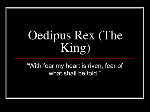 Ironic Quotes In Oedipus The King ~ Dramatic irony in Oedipus Rex. - A ...