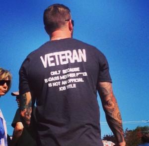 funny veterans day badass