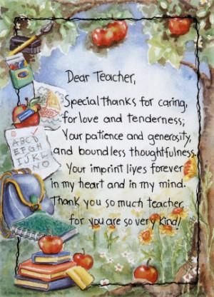 ... can read this, thank a teacher with these homemade teacher gift ideas