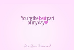 love you quotes - You are the best
