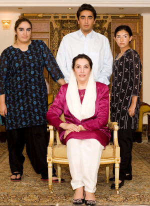 Related Pictures benazir bhutto children